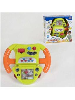 "Штурвал ""Капитан"" 7392 (12) Play Smart, свет, звук, в коробке [82301]"