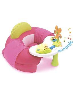 110211 Детское кресло Cotoons с игровой панелью, розовое, 6 мес. +