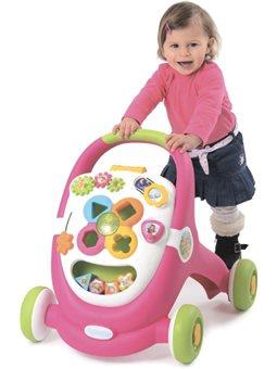 110304 Учебно-игровой центр Cotoons Цветочек со световым и звуковым эффектами, розовый, 12 мес. +