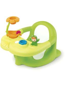 110615 Стульчик для купания Cotoons с игровой панелью, зеленый, 6 мес. +
