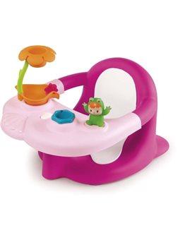 110616 Стульчик для купания Cotoons с игровой панелью, розовый, 6 мес. +