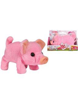 """5893378 Мягкая игрушка CCL """"Свинка Мини Пиг"""", что ходит, хрюкает и виляет хвостиком, 14 см., 3"""
