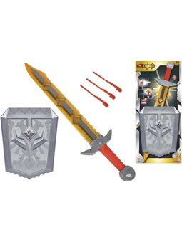 8042241 Игровой набор оружия Уайлд Найтс с мечом со звук. и свет. эффектом, 60 см, щитом с функцией стрельбы