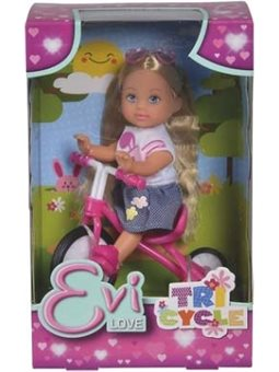 5733347 Кукольный набор Эви На трехколесном велосипеде, 3