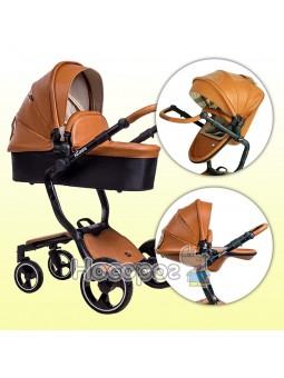 Детская коляска Ninos А88 коричневая