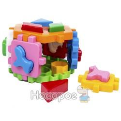 """Игрушка куб """"Умный малыш Гексагон 1 ТехноК"""""""