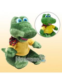Игрушка Крокодил в футболке с платочком (музыкальная)