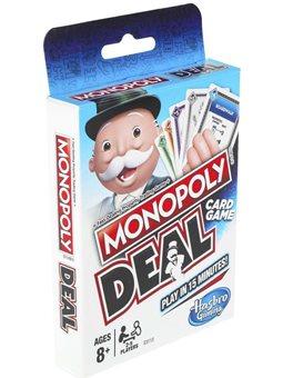 Игра настольная карточная Монополия Сделка [E3113]