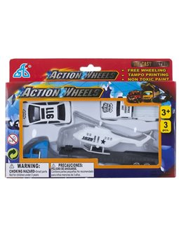 Набор мини транспорта GW Action Wheels 3 эл. 3 вида [625]
