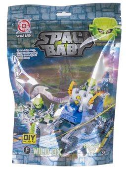 Іграшковий набір Space Baby фігурка та транспортний засіб 6 видів [SB1070]