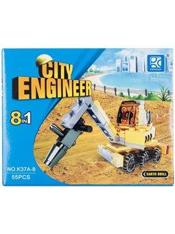 Конструктор Mindbox City Engineer в ассорт. [K37A]