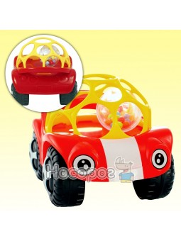 Игрушка-погремушка Мяч-машинка 58081