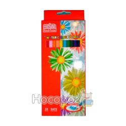 Карандаши цветные Memoris 24 цвета MF16423-24