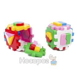 "Игрушка куб ""Умный малыш Логика-комби ТехноК"""