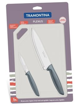 Набор ножей TRAMONTINA PLENUS, 3 предмета [23498/614]