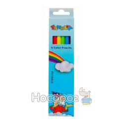 Карандаши цветные Memoris MF16416\FY16415 6 цветов