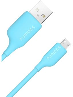 Кабель Puridea L03 - Micro USB - 1m Blue