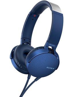 Гарнитура Sony MDR-XB550AP Blue