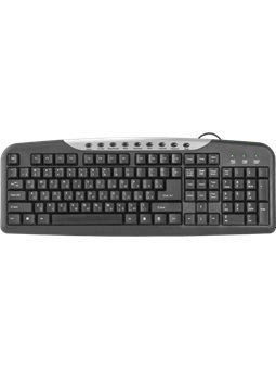 Клавиатура Defender 1 HM-830 USB Black (45830) [45830]