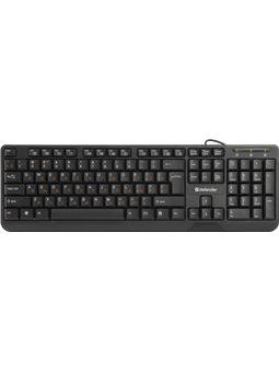 Клавиатура Defender OfficeMate HM-710 Black (45710) [45710]
