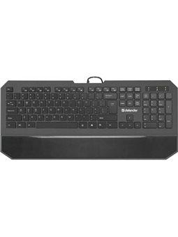Клавиатура Defender Oscar SM-600 Pro Black (45602) [45602]