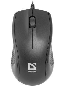 Мышь Defender Optimum MB-160 USB Black (52160) [52160]
