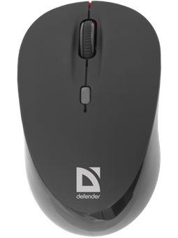 Мышь Defender Dacota MS-155 Wireless Black (52155) [52155]