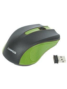 Мышь Omega Wireless OM-419 Green [OM0419G]