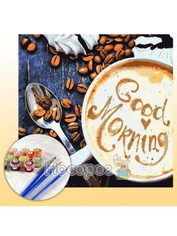 Набор для росписи по номерам Good Morning КНО5523
