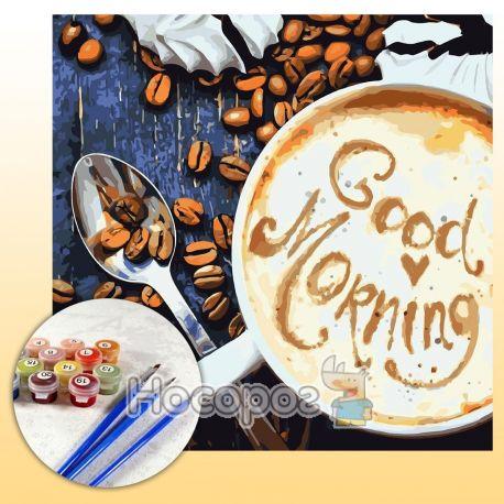 Фото Набор для росписи по номерам Good Morning КНО5523