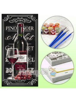 Набор для росписи по номерам Гордость винодела КНО5547