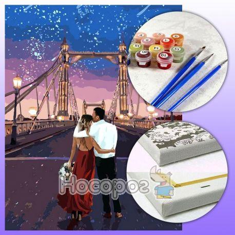 Набор для росписи по номерам Город влюбленных КНО4663