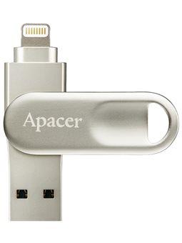 флеш-драйв APACER AH790 32GB Lightning Dual USB 3.1 Сріблястий