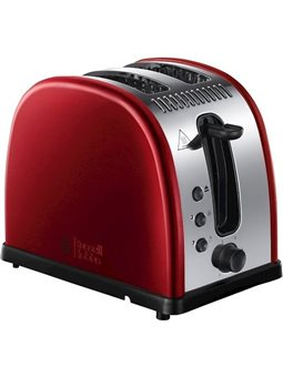 Тостер RUSSELL HOBBS Legacy Red 2 Slice Toaster 21291-56