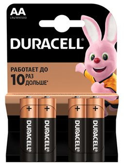 Батарейка DURACELL LR06 MN1500 6409641 (ЮГ)