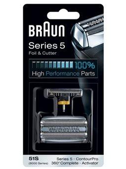 Режущий блок + сетка Braun Series 5 51S [81394071]