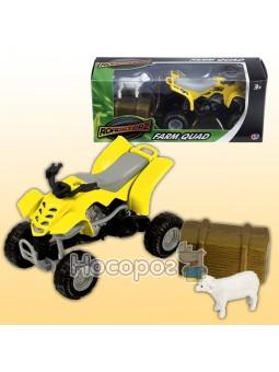 Игровой набор фермерский квадроцикл в ассортименте 1372247