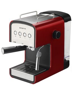 Кавоварка еспрессо POLARIS PCM 1516E Adore Crema Красный
