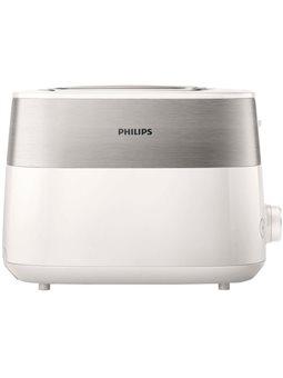 Тостер PHILIPS HD2515/00 Білий+метал