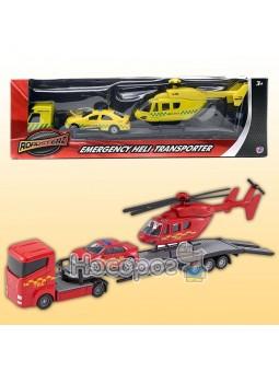 Набор Перевозчик с машиной и вертолетом в ассортименте 1373618