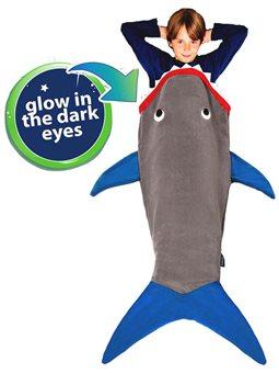 Плед-Спальник Blankie Tails - Акула [BT0003G-B]