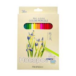 Карандаши цветные AIHAO 36 цветов 9015-36