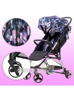 Детская коляска Ninos Mini Purple Bird