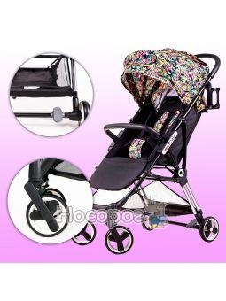 Детская коляска Ninos Mini Pink Jungle
