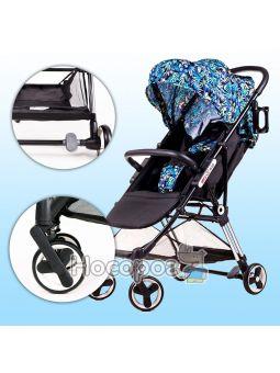 Детская коляска Ninos Mini Blue Jungle
