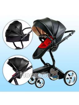 Дитяча коляска Ninos А88 чорна