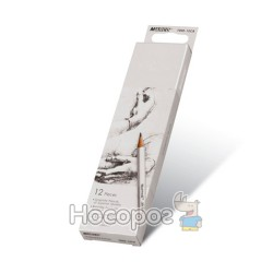 Карандаши простые Marco 7000-12CB