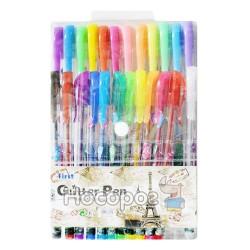Ручки в наборі 031-24 кольорів гель глітер ароматизовані