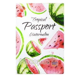 Обложка на паспорт Полимер Tropical 307029