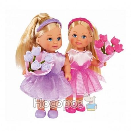 """Фото Лялька Еві """"Подружка нареченої"""" з квітами, 2 види, 3+"""